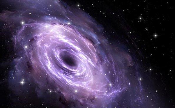 银河系中心附近发现中等黑洞:10万倍太阳质量