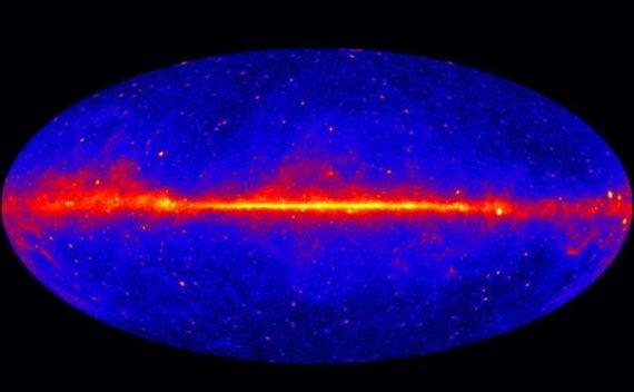 揭示银河系反物质来源:每秒钟制造9万亿千克