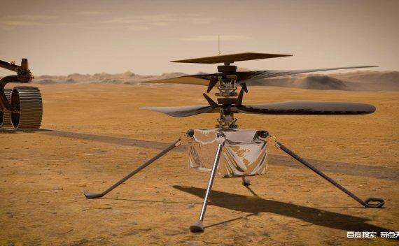 NASA的火星直升机🚁