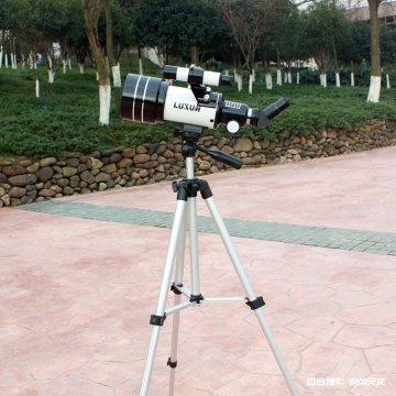 跨境天文望远镜F30070正像观星高倍高清夜视带三脚架
