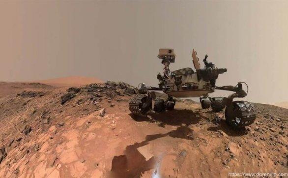 好奇号火星车在火星上拍到一团火,清晰可见,会是什麽?NASA对此给出解释