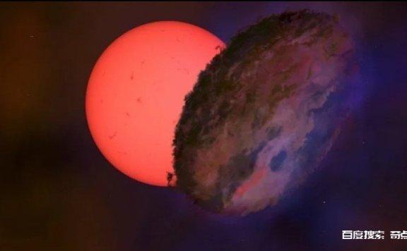 天文学家在银河系中心侦测到一颗神秘且巨大的星体,亮度会下降并消失长达多个月