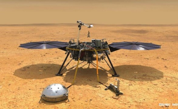 你还在看火星的表面,科学家却看到了火星的内部,里面是什麽样的