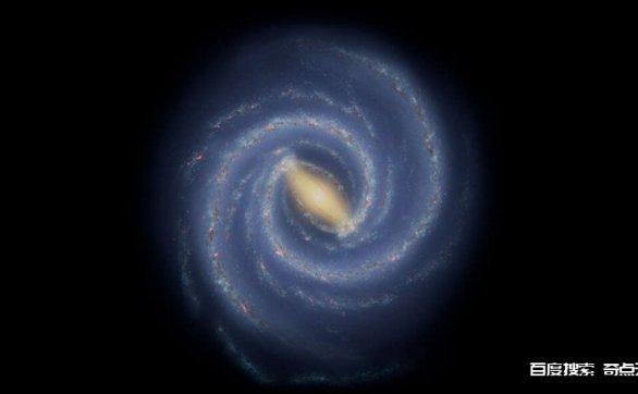 天文学家在银河系的一个旋臂上发现了长达3000光年的突出物