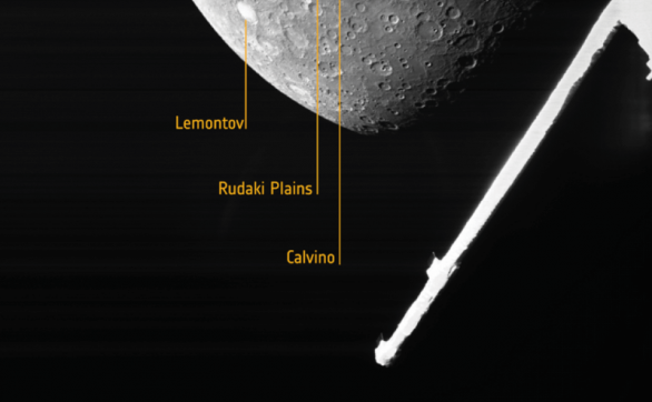 飞行近三年,水星探测太空船BepiColombo传回第一张水星北半球的影像